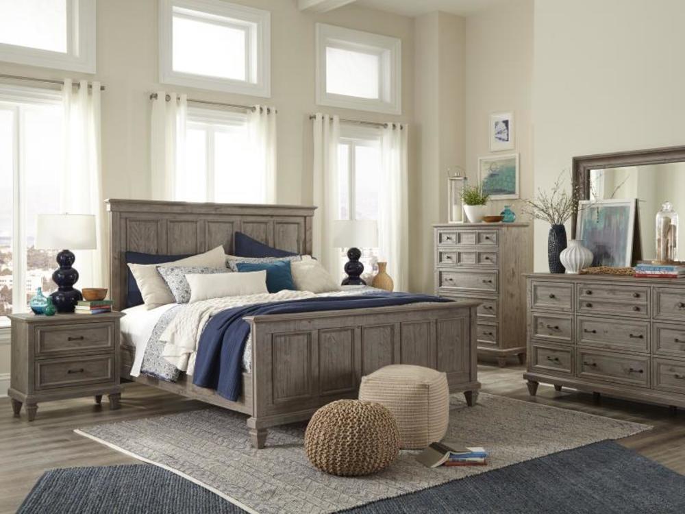 Magnussen Home - Panel Bed
