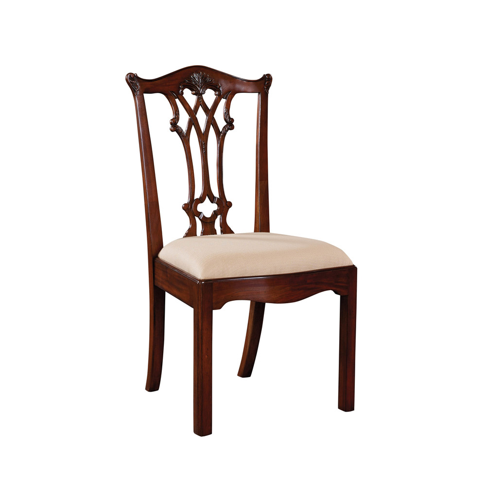 Maitland-Smith - Chippendale Straight Leg Side Chair