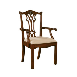Thumbnail of Maitland-Smith - Chippendale Straight Leg Arm Chair