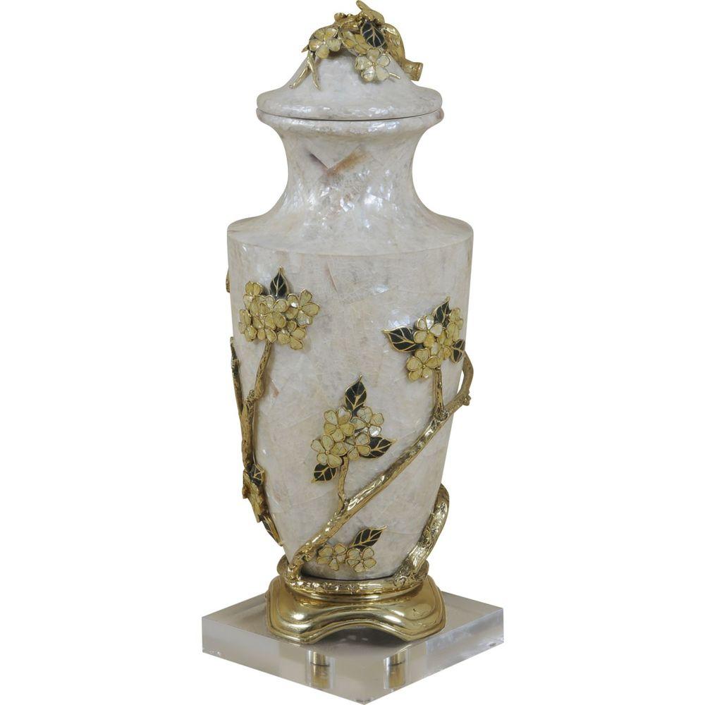 Maitland-Smith - Decadent Lidded Vase
