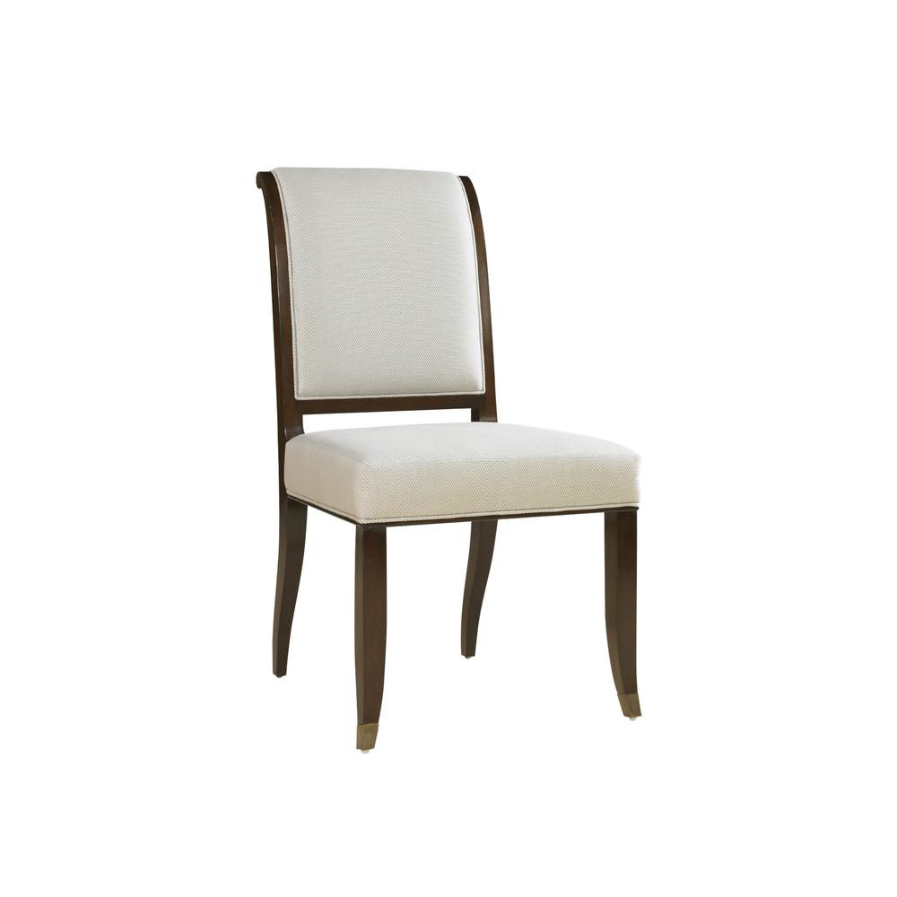 Maitland-Smith - Dark Walnut Side Chair