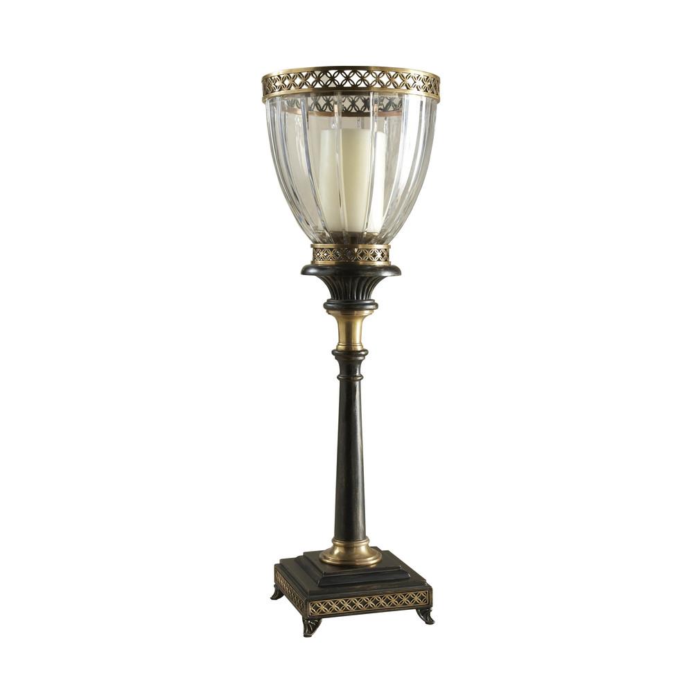 Maitland-Smith - Decorative Cut Glass Globe Candleholder