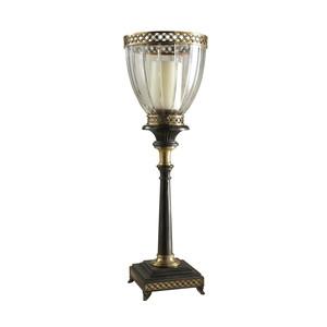 Thumbnail of Maitland-Smith - Decorative Cut Glass Globe Candleholder