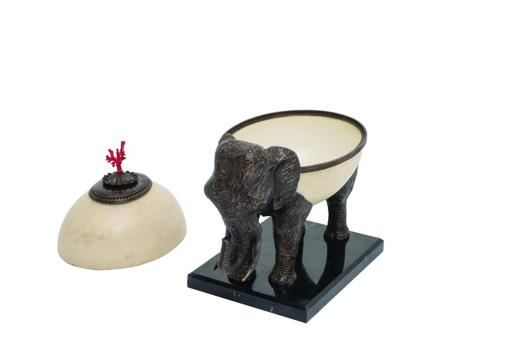 Maitland-Smith - Mactau Lidded Bowl