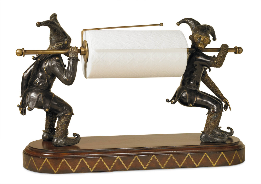 Maitland-Smith - Jesters Paper Towel Holder