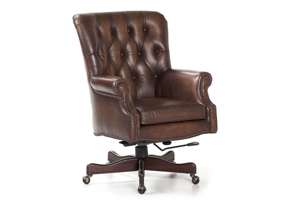 Maitland-Smith - Merchant Swivel Tilt Desk Chair