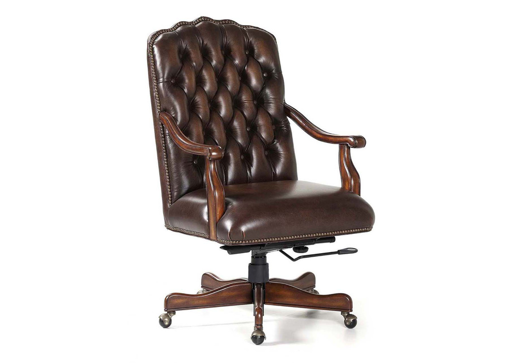 Maitland-Smith - Johnson Swivel Tilt Desk Chair