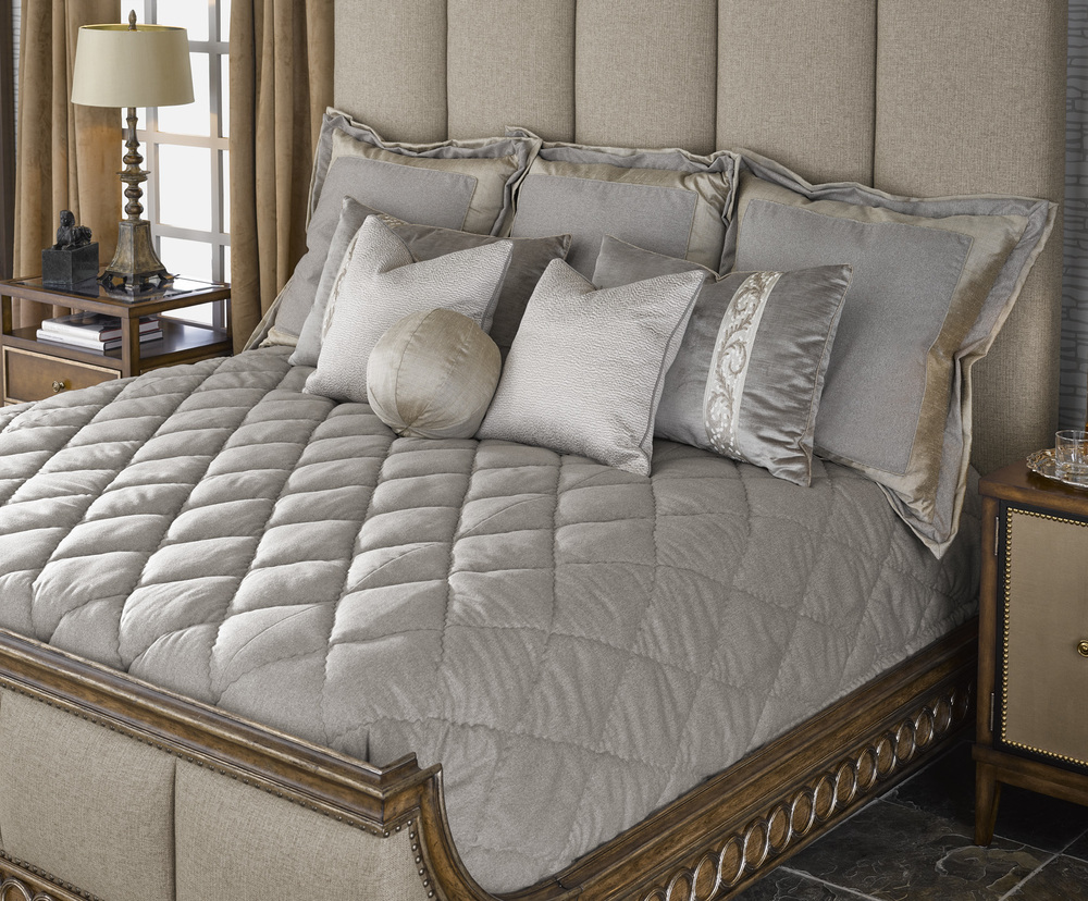 Marge Carson - Arcadia Panel Bed