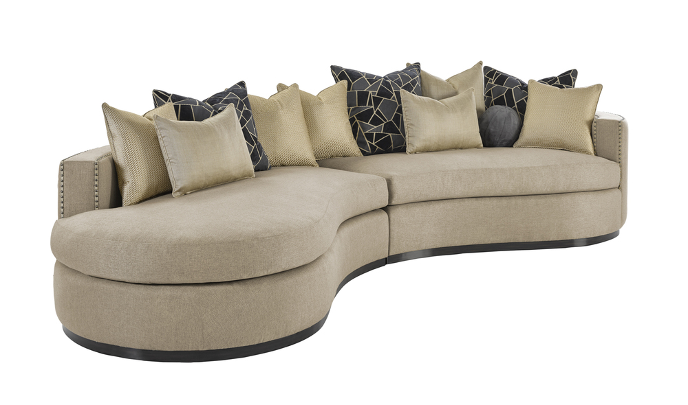 Marge Carson - Aurora Two Piece Sofa