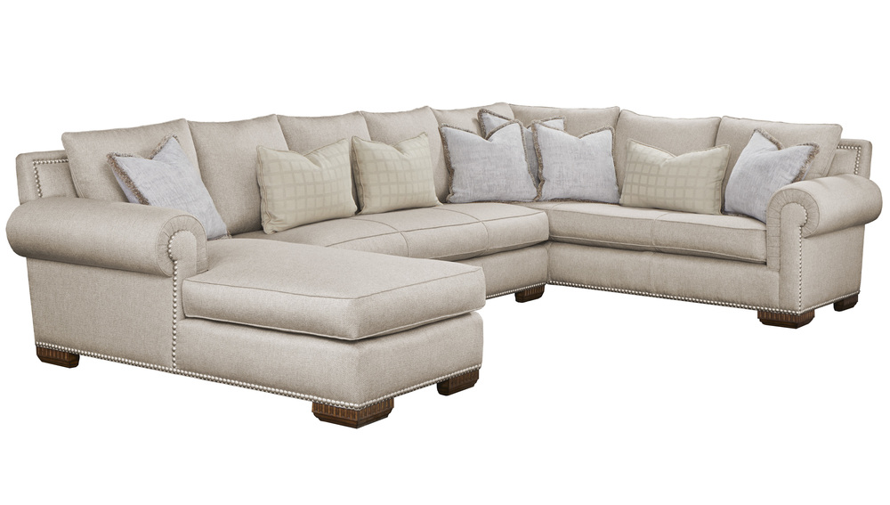 Marge Carson - Bentley Sectional with Chaise