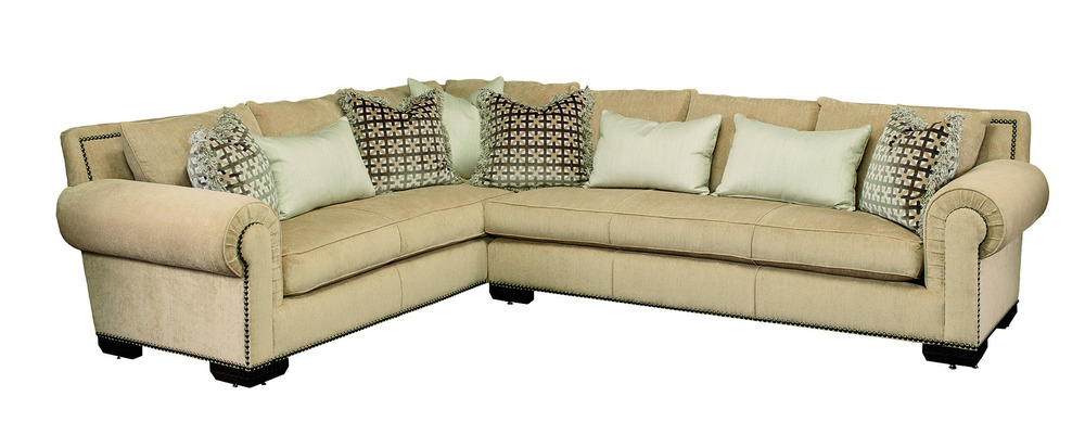 Marge Carson - Bentley Long Sectional