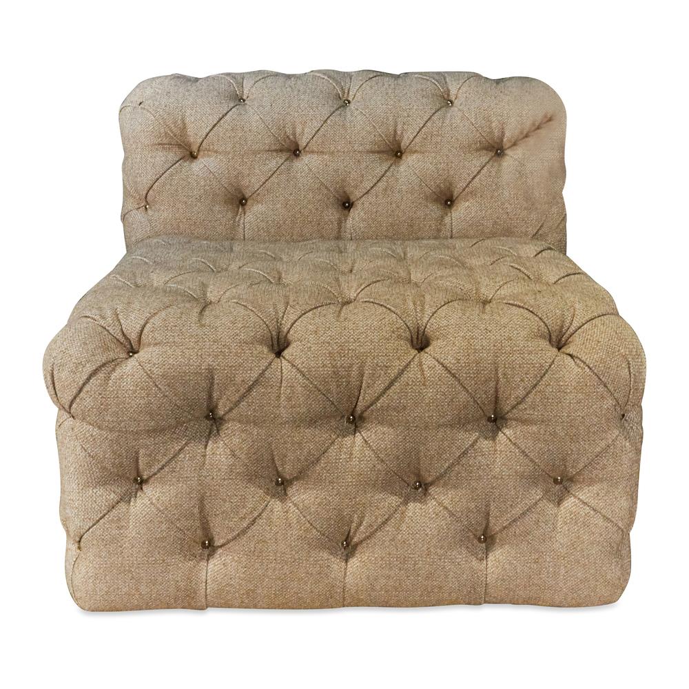 Marge Carson - Manhattan Armless Chair and Ottoman