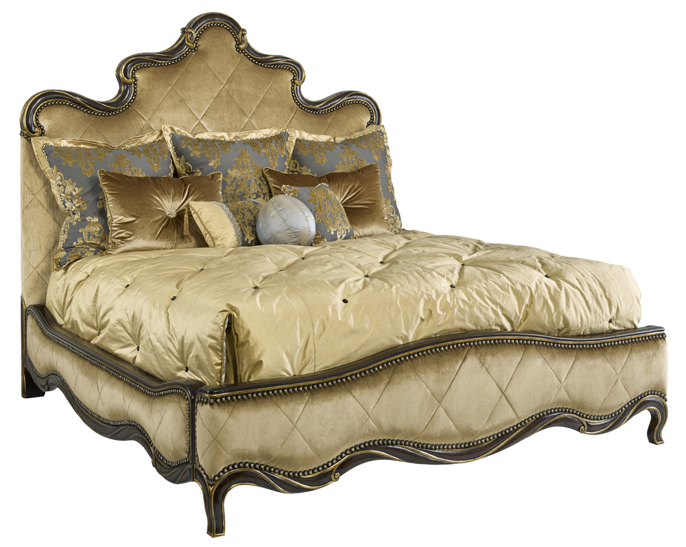 Marge Carson - Grand Traditions Panel Bed
