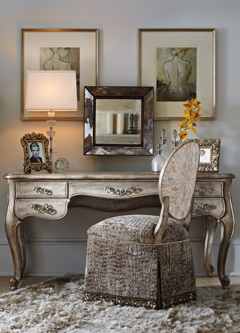 Marge Carson - Ophelia Vanity Chair
