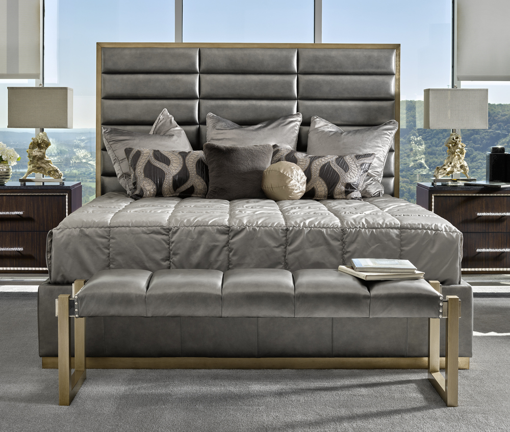 Marge Carson - Palo Alto Contemporary Bed