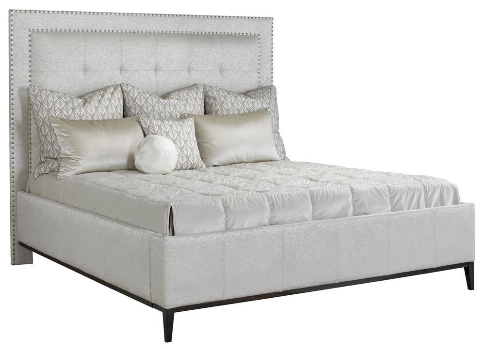 Marge Carson - Palo Alto Upholstered Bed