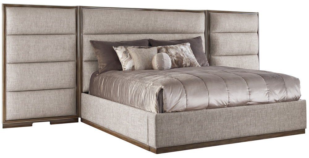 Marge Carson - Palo Alto Bed with Panels