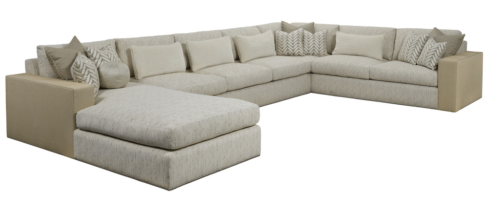 Marge Carson - Playa Grande Large Sectional with Chaise