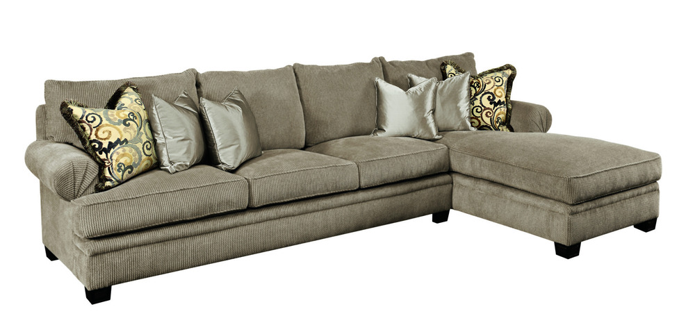 Marge Carson - Santa Barbara Sectional with Chaise
