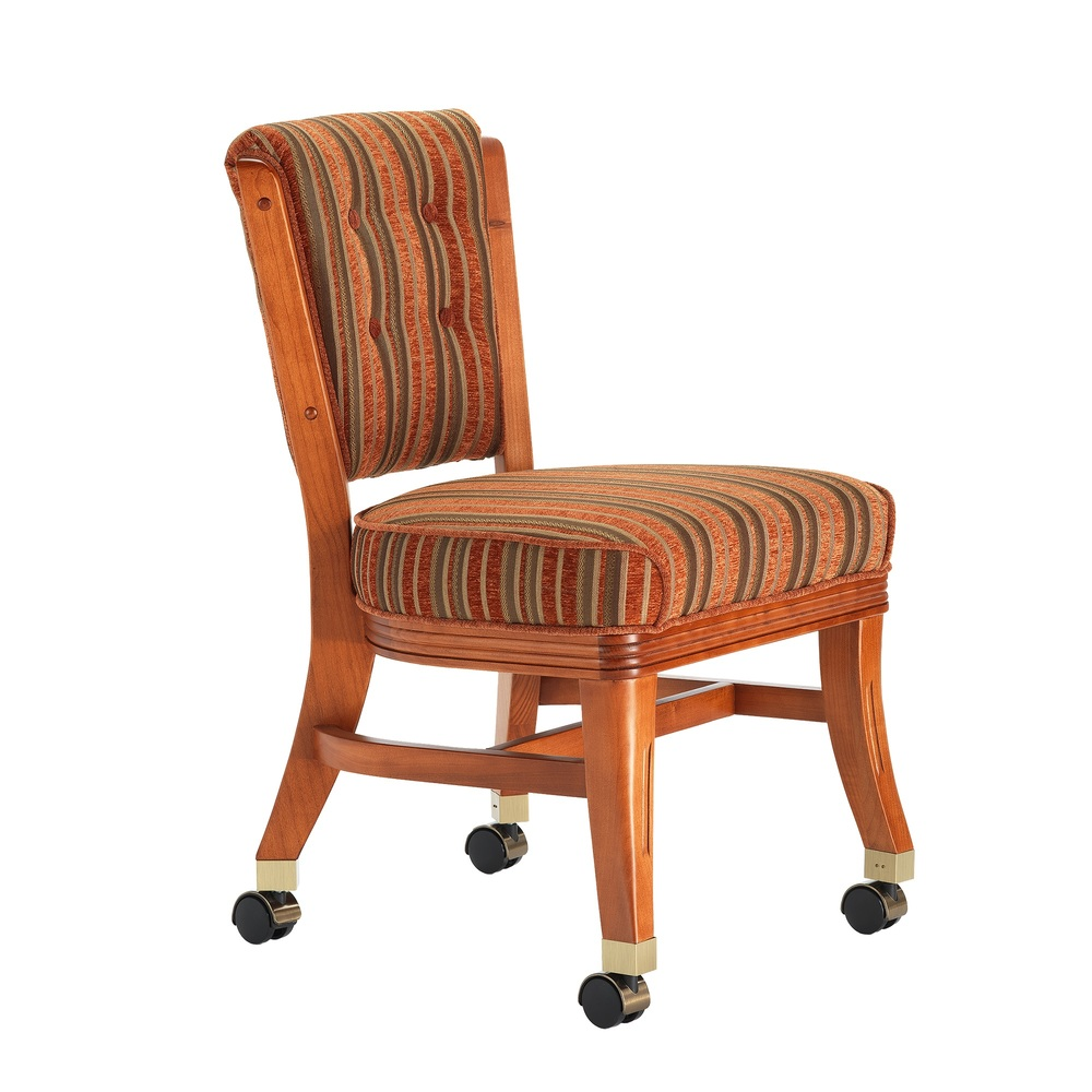 Darafeev - Armless Club Chair with Casters
