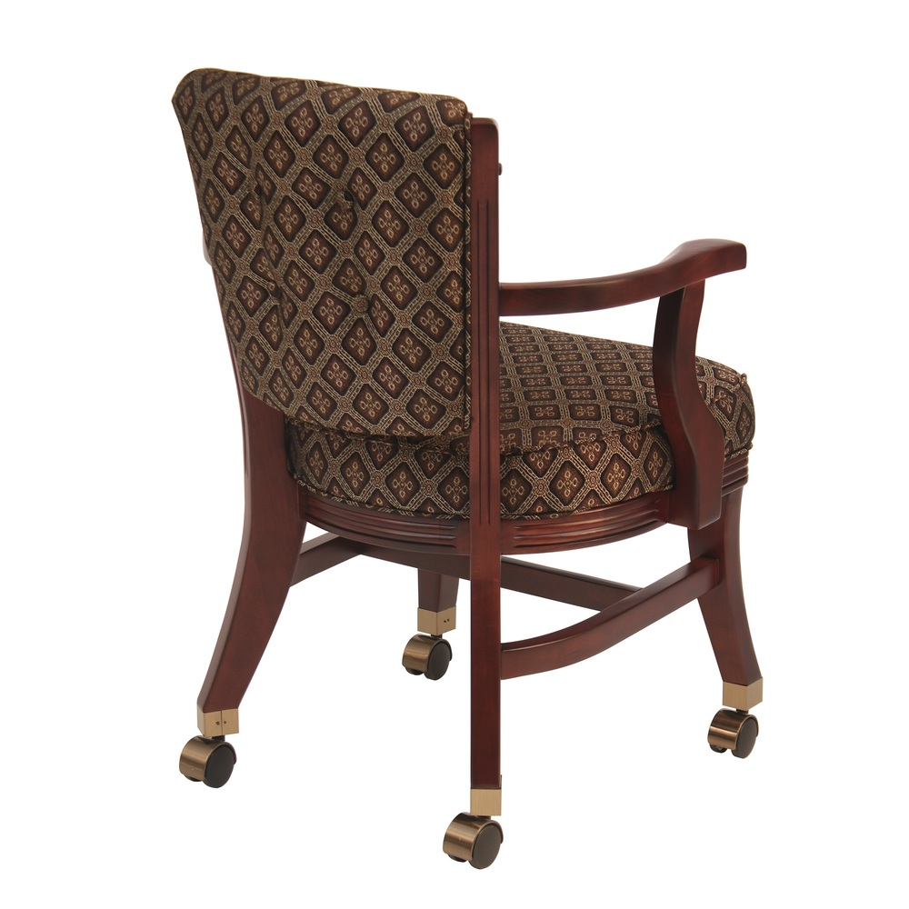 Darafeev - Club Chair with Casters