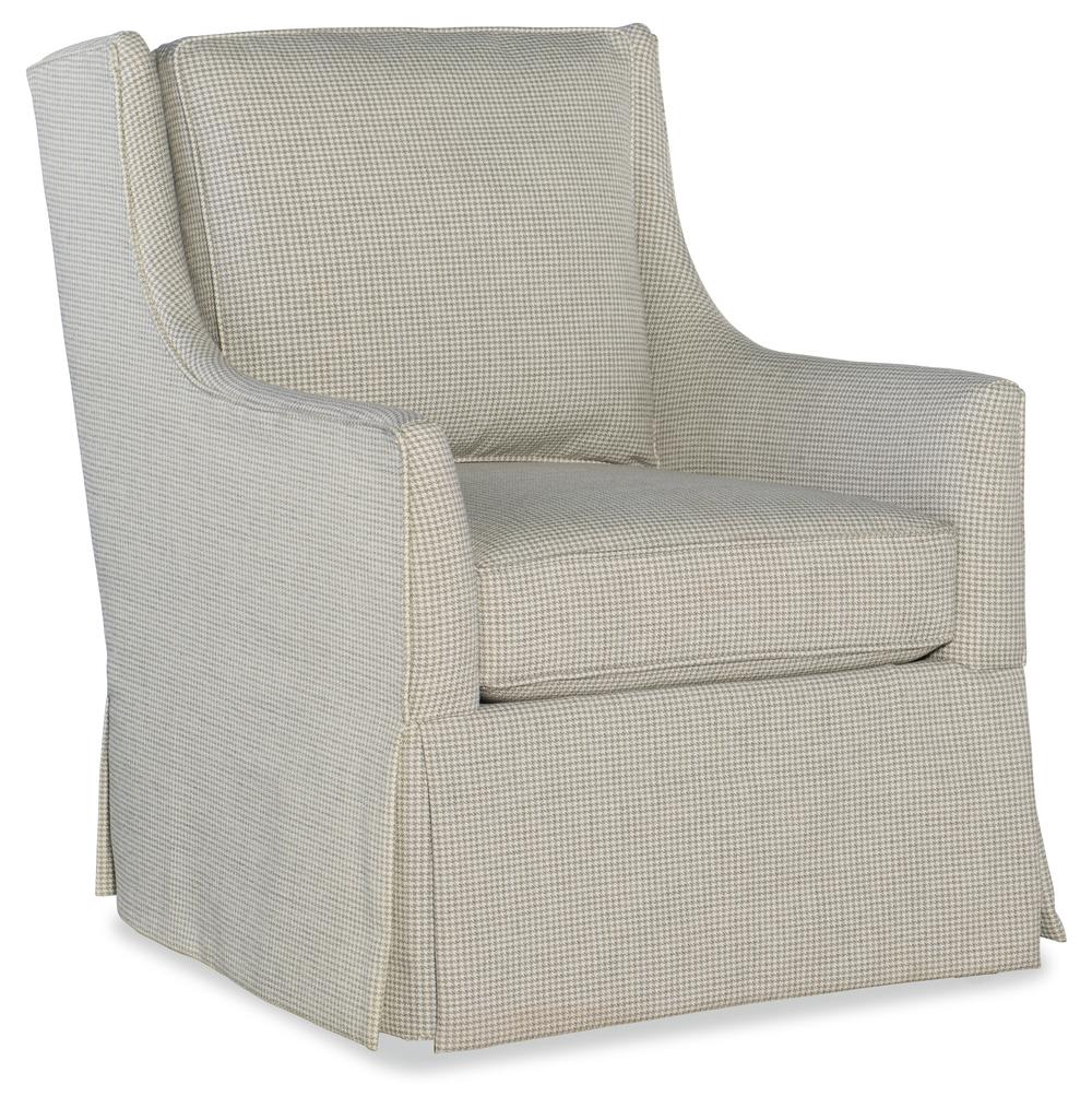 Sam Moore - Hand over Heart Swivel Chair