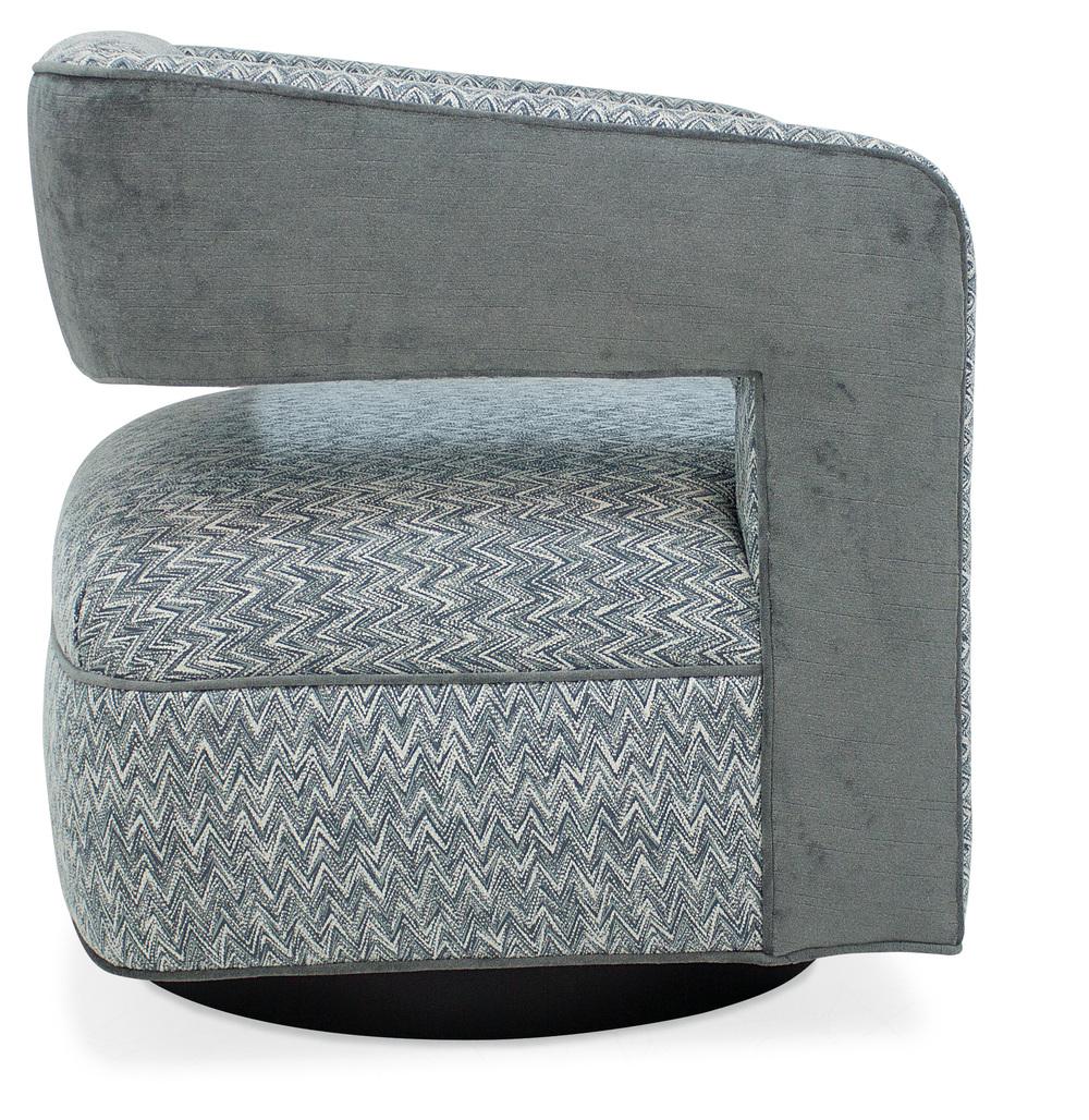 Sam Moore - Makani Swivel Chair, Metal Base