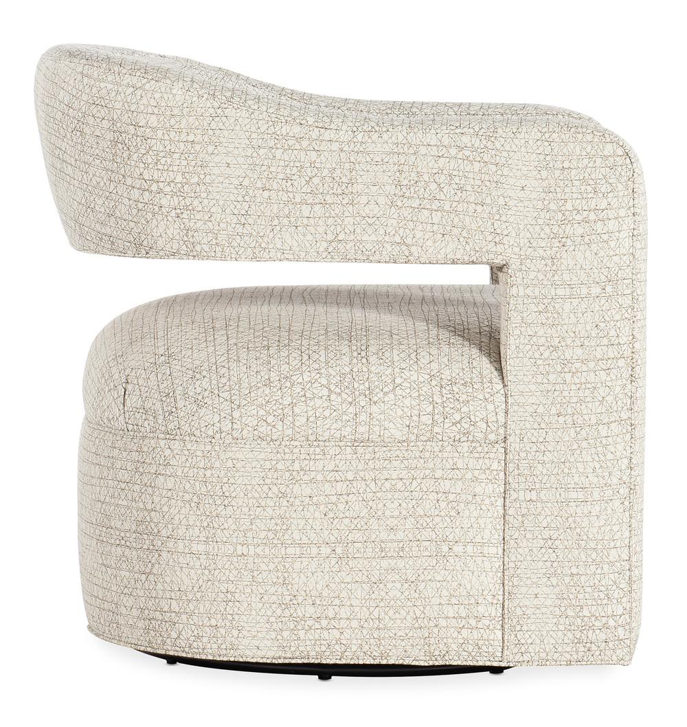 Sam Moore - Moani Swivel Chair, Metal Base