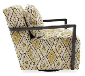 Thumbnail of Sam Moore - Creighton Exposed Wood Swivel Chair