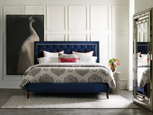 Thumbnail of Sam Moore - Jay Queen Upholstered Bed