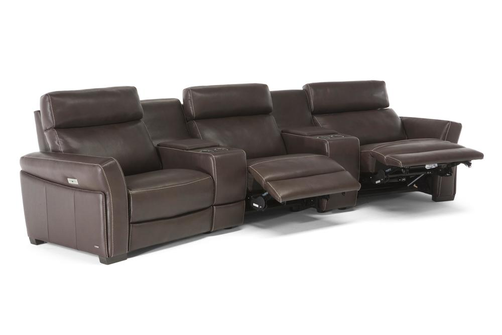 Natuzzi Editions - Gioviale Motion Sectional