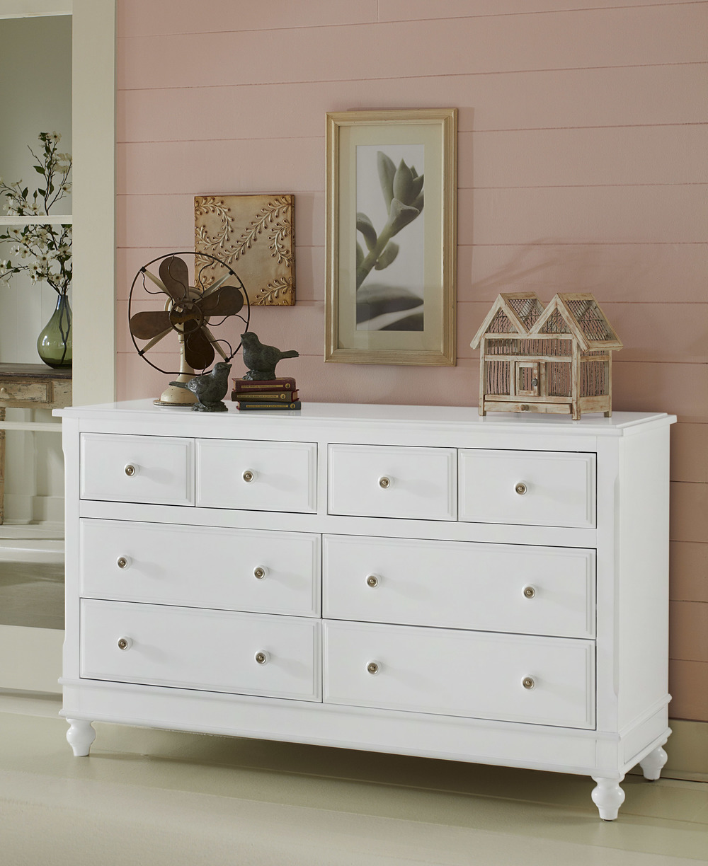 Hillsdale Kids & Teen - Lake House Eight Drawer Dresser