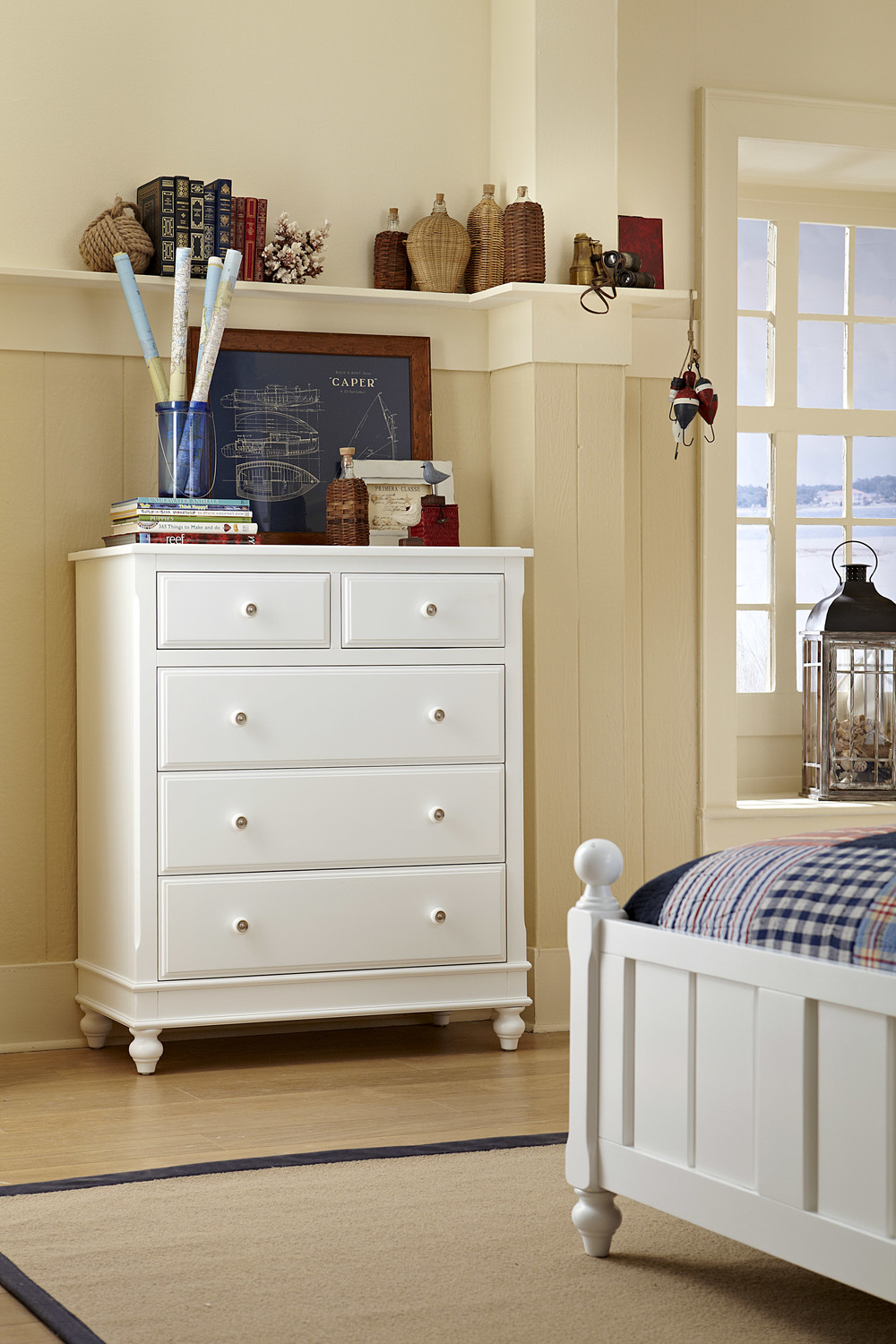 Hillsdale Kids & Teen - Lake House Five Drawer Chest