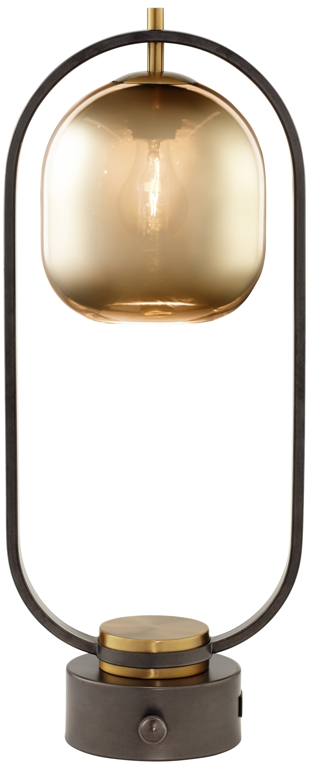 Pacific Coast Lighting - Downward Facing Glass Dome Table Lamp