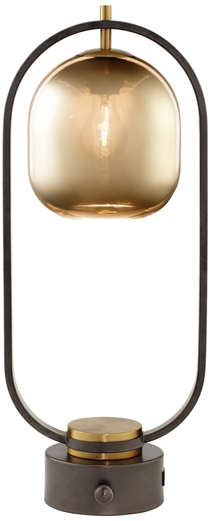 Thumbnail of Pacific Coast Lighting - Downward Facing Glass Dome Table Lamp