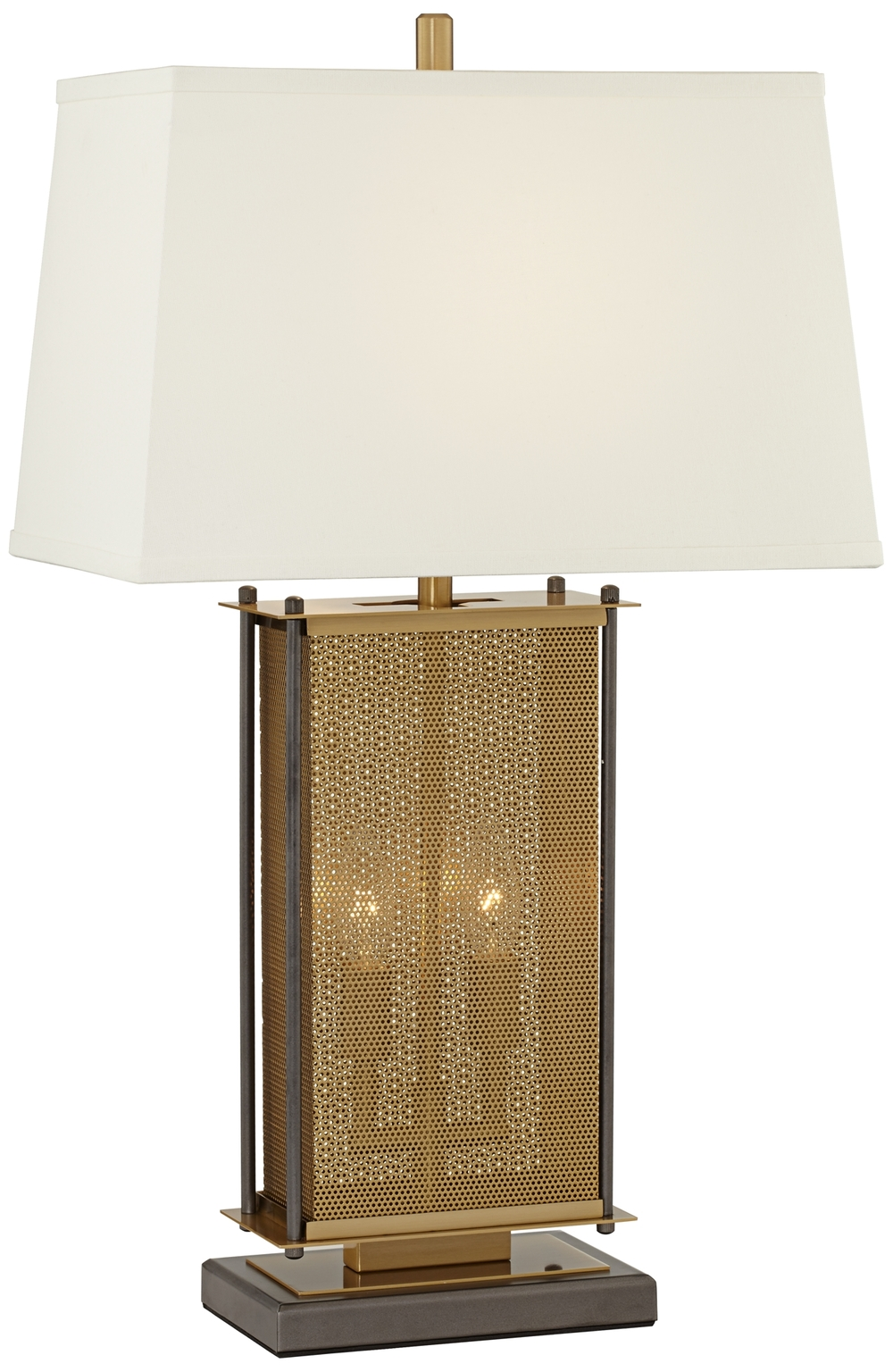 Pacific Coast Lighting - Perforated Cage Table Lamp