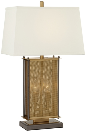 Thumbnail of Pacific Coast Lighting - Perforated Cage Table Lamp