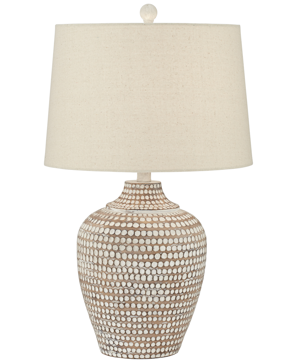 Pacific Coast Lighting - Resin Hammered Lamp