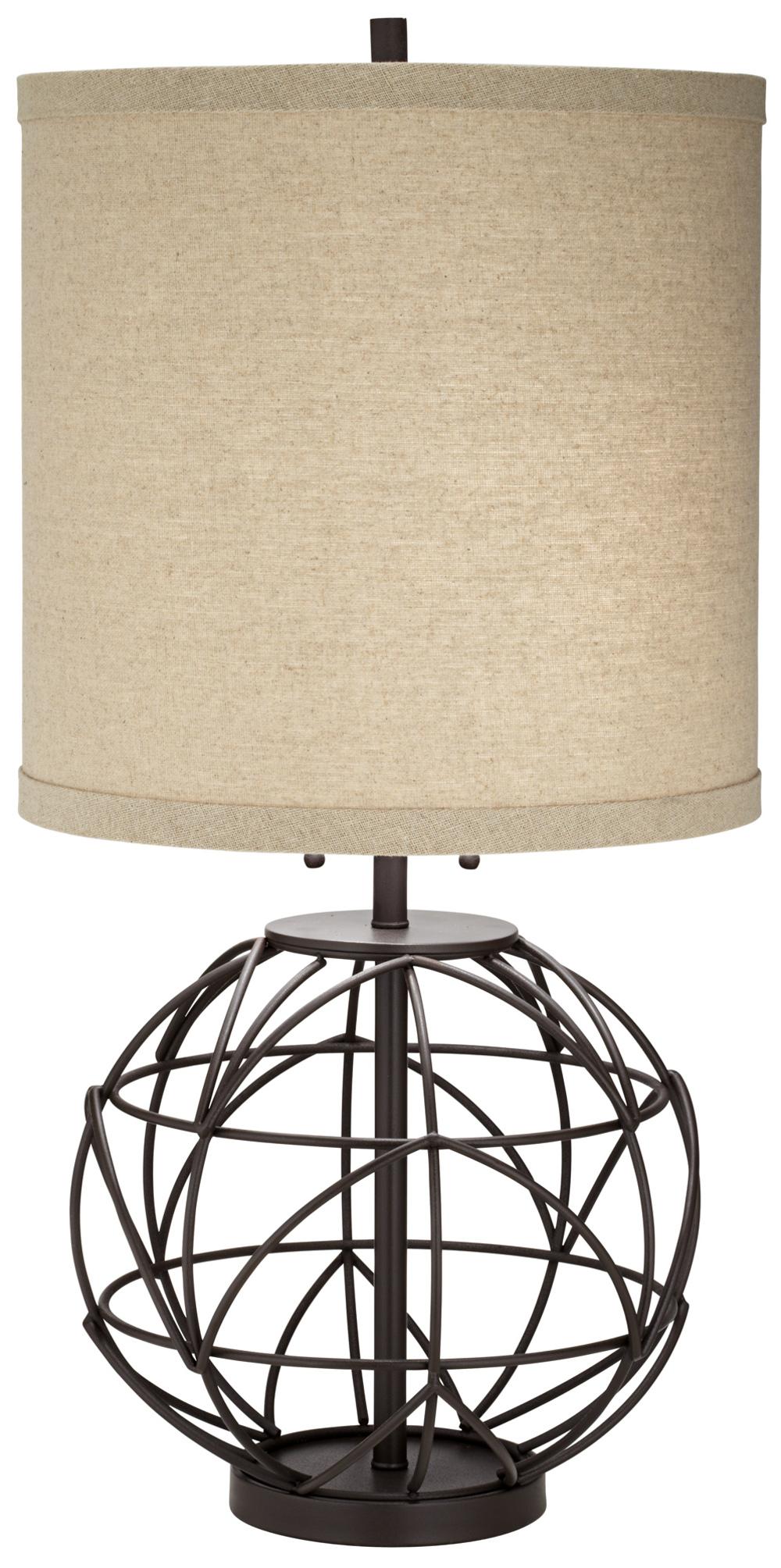 Pacific Coast Lighting - Alloy Globe Table Lamp
