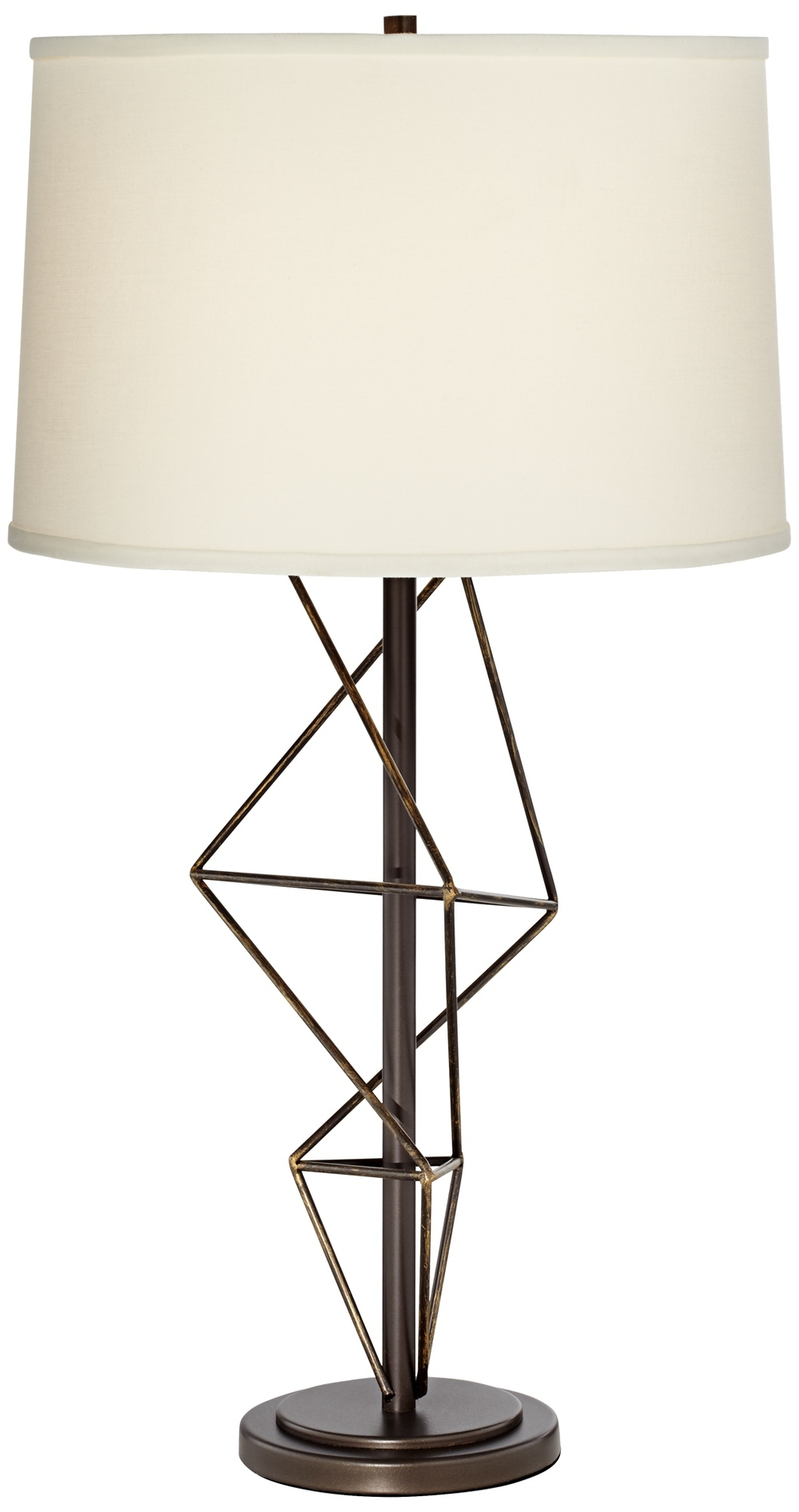 Pacific Coast Lighting - Geometric Metal Table Lamp