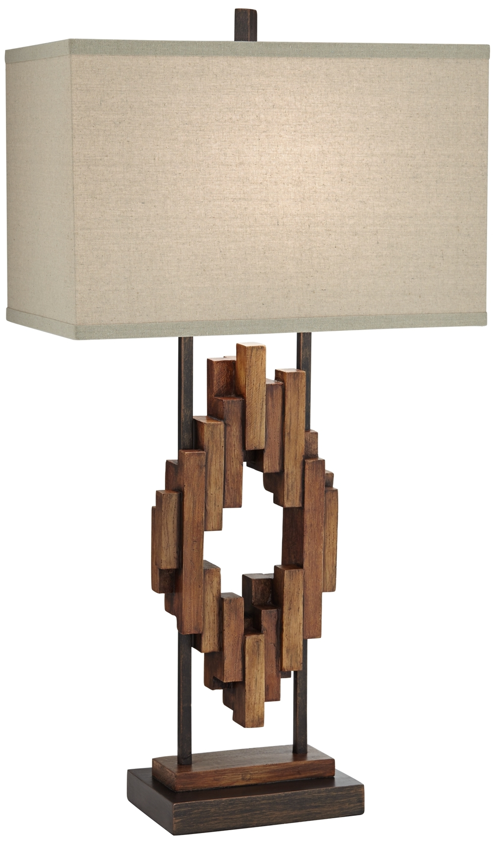 Pacific Coast Lighting - Bonanza Wood Table Lamp