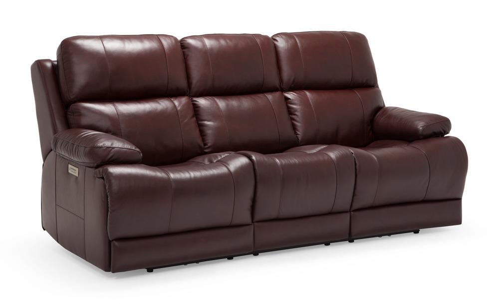PALLISER FURNITURE - Power Sofa with Headrest/Lumbar