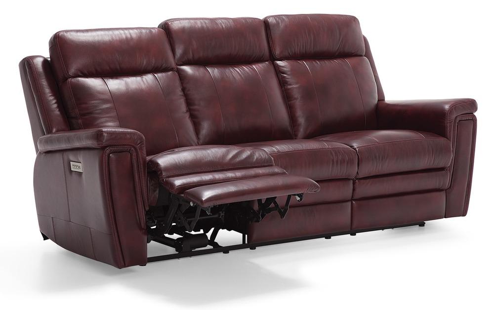 Palliser Furniture - Asher Reclining Sofa with Power Headrest and Lumbar