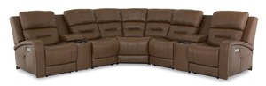 Thumbnail of Palliser Furniture - Washington Seven Piece Sectional with Storage Consoles
