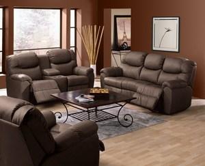 Thumbnail of Palliser Furniture - Regent Power Console Loveseat w/ Cup Holder