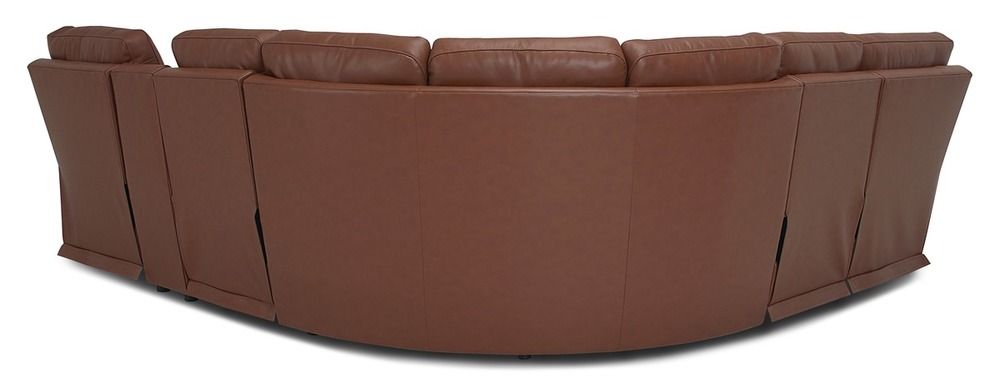 Palliser Furniture - Leo Six Piece Sectional with Storage Console