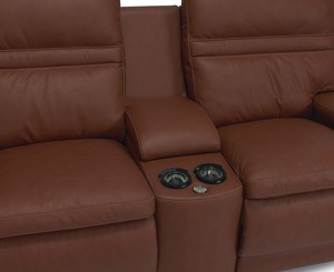 Thumbnail of Palliser Furniture - Leo Six Piece Sectional with Storage Console