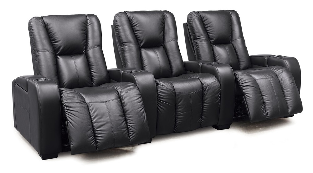 Palliser Furniture - Media Three Seat Straight Theater Seating