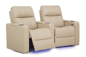 Thumbnail of Palliser Furniture - Soundtrack Two Seat Curved Theater Seating