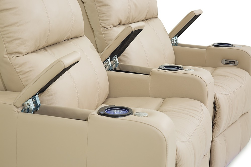 Palliser Furniture - Soundtrack Two Seat Curved Theater Seating